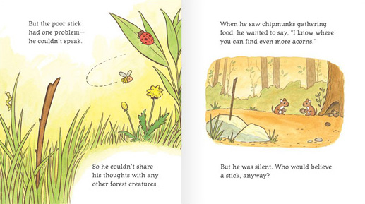 Pages from The Clever Stick © by John Lechner