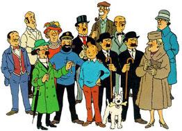 Tintin cast